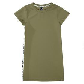 Kleid mit Seitenstreifen