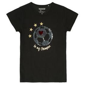 Staccato SOCCER T-Shirt mit Wendepailletten