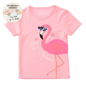 Staccato WENDEPAILLETTEN T-Shirt FLAMAZING