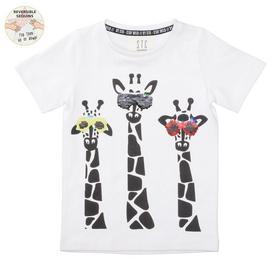 Staccato WENDEPAILLETTEN T-Shirt Giraffe