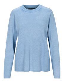 (S)NOS Stehbund-Pullover,1/1Ar - 608/608 DENIM MEL