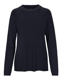 (S)NOS Stehbund-Pullover,1/1Ar - 611/611 MARINE