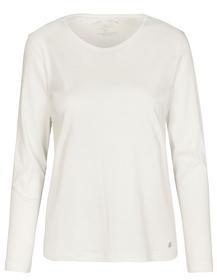 (S)NOS Rdh.-Shirt, 1/1 Arm,uni - 102/102 OFFWHITE