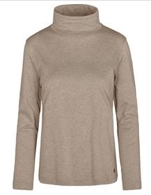 (S)NOS Rollkragen-Shirt,1/1Arm - 709/709 TAUPE MEL