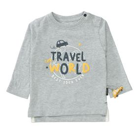 Kn.-Shirt - 811/COLD GREY MEL.