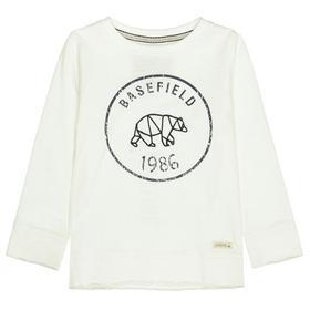 Kn.-Shirt 1/1 Arm, Slim - 101/OFFWHITE