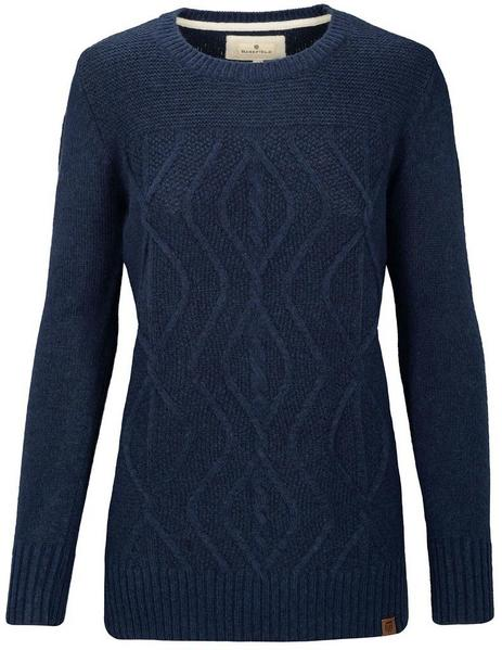 Basefield Pullover mit Zopfmuster