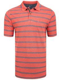 (S)NOS 2-Knopf Polo Shirt Mel.-M