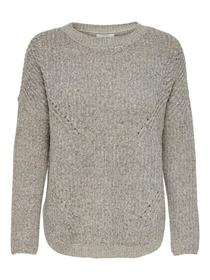 ONLBERNICE L/S ROUND PULLOVER KNT NOOS