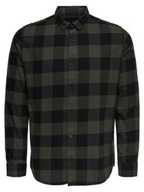 ONSGUDMUND LIFE  LS CHECKED SHIRT N
