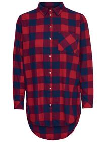 onlROCK IT LOOSE L/S CHECK SHI