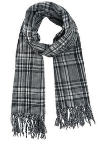 JACCHECKED WOVEN SCARF LTD
