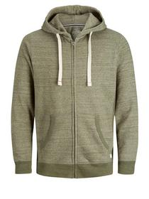JJESPACE MELANGE SWEAT ZIP HOOD NOO