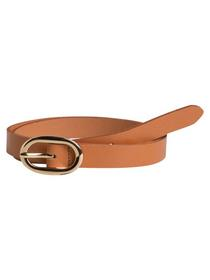 PCANA LEATHER JEANS BELT NOOS