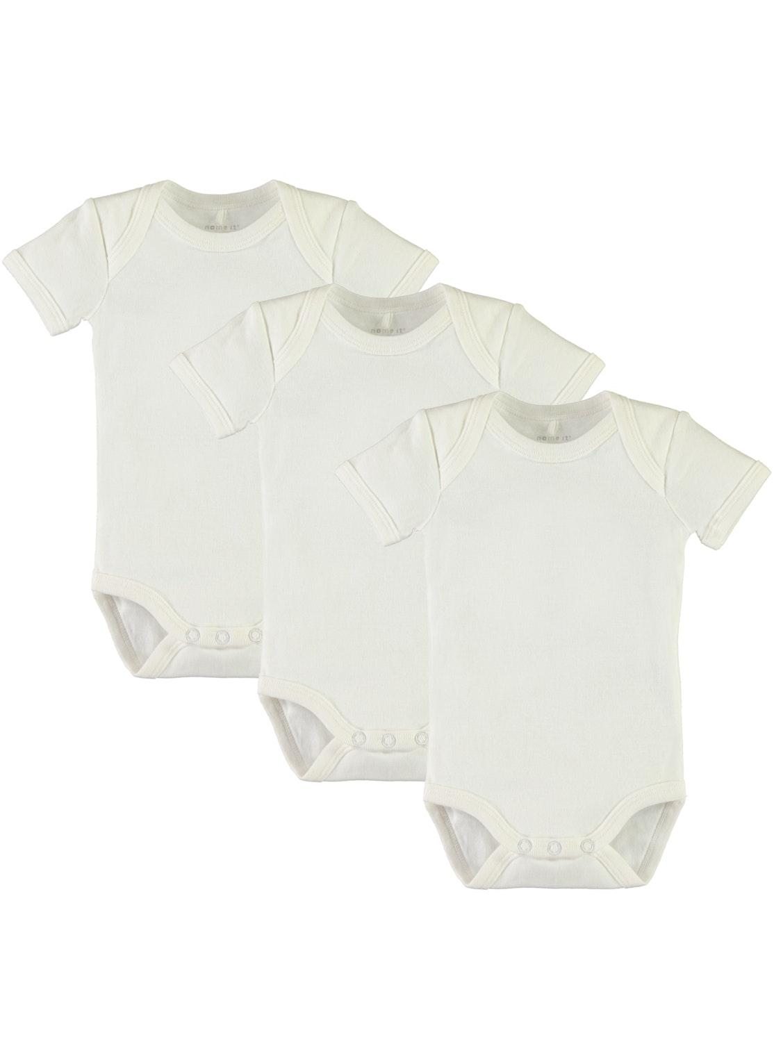 NBNBODY 3P SS SOLID WHITE NOOS