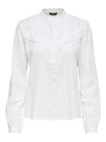 ONLMIRIAM LS EMB ANGLAISE BLOUSE NO