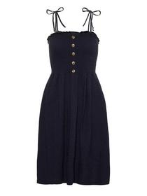 VMARIA SL BLK DRESS, Night Sky
