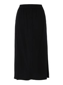 VMGAEL CALF SKIRT VMA KI, Black