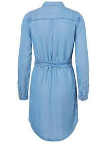 VMMIA LS REGULAR SHIRT DRESS GA, Light Blue Denim