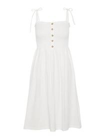 VMARIA SL BLK DRESS, Snow White