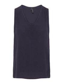 VMEVA V-NECK S/L TOP EXP NOOS, Night Sky