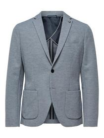 SLHSLIM-HIKEN BLAZER B NOOS - 178992/Light Grey Me