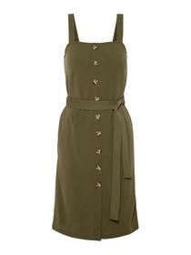 VMMILLE SL BUTTON BLK DRESS JRS