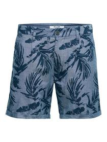 onsCALTON PRINTED CHAMBRAY SHORTS