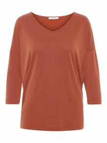 PCKAMALA MUSTHAVE 3/4 TOP, Picante