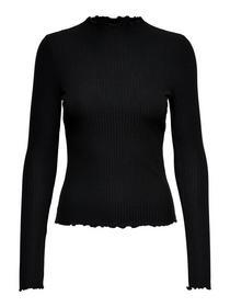ONLEMMA L/S HIGH NECK TOP NOOS JRS - 177911/Black
