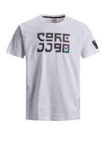 JCOJAGGER TEE SS CREW NECK JUNIOR - 178074/White