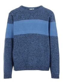 NKMVERMAN LS KNIT - 233604/Dutch Blue