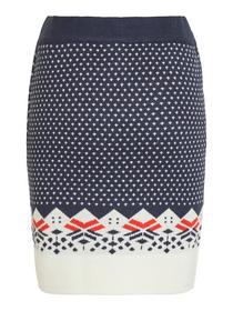 VIKLARA KNIT SKIRT/ZA