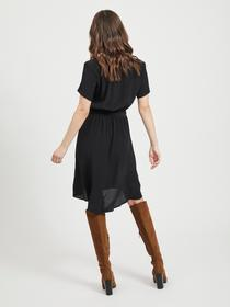 VIPRIMERA WRAP S/S DRESS-NOOS