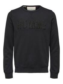 SLHJARED CREW NECK SWEAT W - 179099/Black