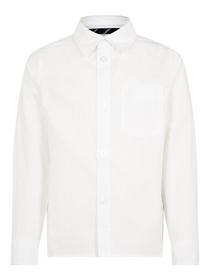 NMMROD LS SHIRT - 178494/Bright White