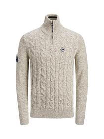 JORJEFFREY KNIT TURTLE ZIP