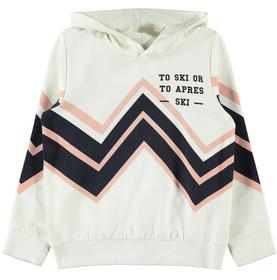 NKFSIDSEL LS SWEAT WH BRU - 205618/Snow White