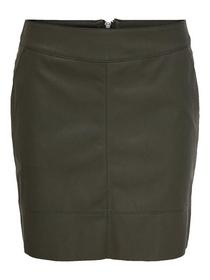 ONLBASE FAUX LEATHER SKIRT OTW NOOS