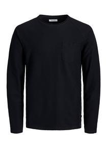 JJETERRY SWEAT O-NECK NOOS - 178012003/Black/Reg/S