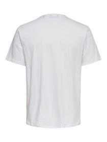 ONSNORMIE REG SS TEE - 188758/White