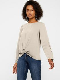 VMSTANLY KNOT L/S TOP COLOR