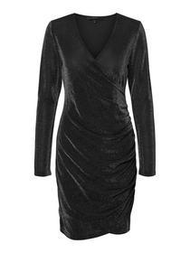 VMDENISE LS SHORT DRESS JRS BOO KI - 177868001/Bla