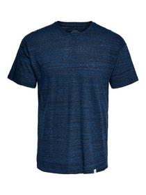 ONSMILL DROP SH TEE CE 5818 - 192818/Dress Blues