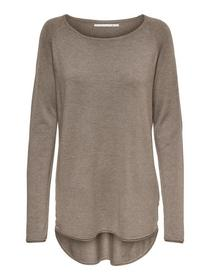 ONLMILA LACY L/S LONG PULLOVER KNT NOOS