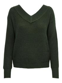 ONLMELTON LIFE L/S PULLOVER KNT NOO - 193783/Fores