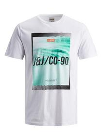 JCOFRIDAY-DISC TEE SS CREW NECK - 178074003/White/