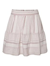 VMHAZEL HW SKIRT WVN - 175598003/Snow White/SABLE