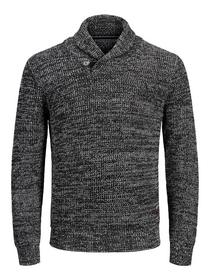JJVINCENT KNIT SHAWL NECK