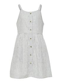 KONCANYON LINEN STRIPE DRESS
